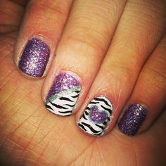 #zebra #purple #heart