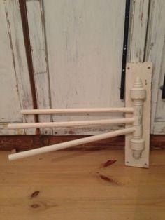 新品ナチュラルふきん掛けハンガー木シャビーアンティーク Antique wood hanger ¥2800yen 〆04月22日