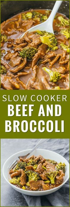 Check out the slow cooker version of my popular beef and broccoli recipe. Easier to make healthier and tastes way better than takeout. crock pot easy stir fry keto healthy recipe pioneer woman slow cooker paleo chinese sauce noodles via Savory Tooth Crock Pot Slow Cooker, Crock Pot Cooking, Slow Cooker Recipes, Beef Recipes, Cooking Recipes, Healthy Recipes, Chicken Recipes, Cooking Tips, Stir Fry Crock Pot
