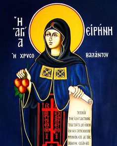 """681 Likes, 5 Comments - @liveorthodoxy on Instagram: """"On this day we commemorate St. Irene the Righteous of Chrysovalantou. Saint Irene, who was from…"""""""