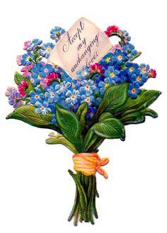 Vintage Flowers, Vintage Floral, Pink Flowers, Flowers Today, Flowers Online, Graphics Fairy, Clipart, Floral Bouquets, Floral Wreath