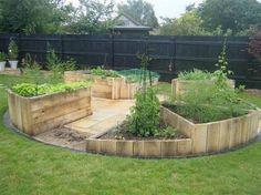 Wood Pallet Raised Garden