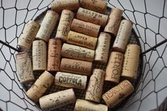 Wine Corks For Crafts Lot of 24 Sonoma County Wine Corks