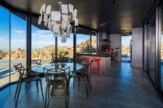 Zettel'z Chandelier By Ingo Maurer, Masters Chairs by Kartell, Stool_One Set of 2 By Konstantin Grcic for Magis