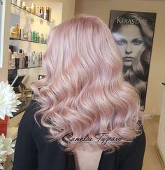 Pastel haircolor