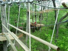 The Adventure Park At Sandy River Retreat - Farmville, High Ropes Course, Zip Lining