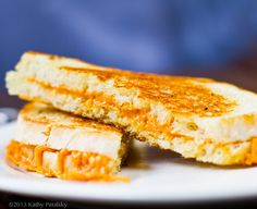 16 Swoon-Worthy Grilled Cheese Sandwiches that are Vegan :Classic Grilled Cheese  This classic simple grilled cheese sandwich is paired with cheezy, savory vegan tomato soup. Cozy day approved. Make vegan grilled cheese and tomato soup, recipe on Healthy. Happy. Life.