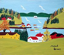 Maud Lewis Digby Cove