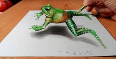 30 Beautiful 3D Drawings - 3D Pencil Drawings and Art works | Read full article…
