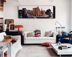 Plaid patterns, velvet fabrics, deep hues