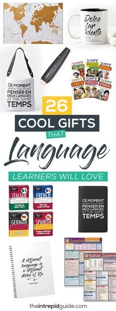 26 Cool Gifts For Language Learners They Will Actually Use and Love