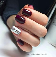 50 simple summer square acrylic nail designs in 2019 .- 50 Simple Summer Square Acrylic Nails Designs in 2019 – Nails Art Design – # Acrylic Nails - Acrylic Nails Natural, Square Acrylic Nails, Cute Acrylic Nails, Acrylic Gems, Nail Polish Designs, Acrylic Nail Designs, Nail Art Designs, Maroon Nails, Burgundy Nails