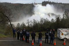 The sudden chaos unleashed by damage to a dam's spillway offered a dramatic reversal for Northern California, which until recently was parched by drought.