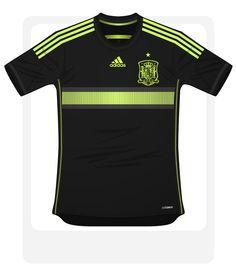 Spain 2014 adidas World Cup Away Football Kit Design Leaked 1