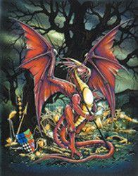 Treasure Dragon Card