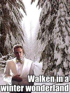 Walken in a winter wonderland... _____________________ www.fixwomenshealth.com