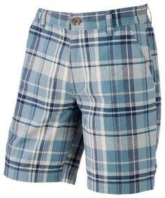 RedHead Carson Plaid Shorts for Men - Blue - 40