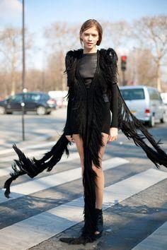 Elena Perminova - Page 4 - the Fashion Spot Mode City, Rock And Roll Fashion, Models Off Duty, Facon, Street Chic, Alternative Fashion, Street Style Women, Streetwear Fashion, Style Icons