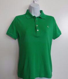 Ralph Lauren RLL Women's Green 100% Cotton  S/S Polo T-Shirt Size Small NWT #RalphLauren #Polo