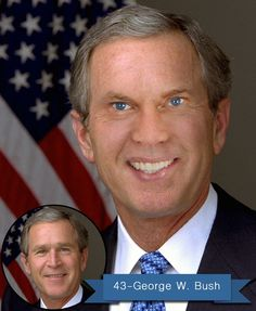 IF I WERE PRESIDENT GEORGE W. BUSH - Today we discussed if I were President George Bush. To read more about my project and to see the past recreated Presidents please click the visit link above. And if you really enjoy it please share this fun, educational and creative project. Thanks
