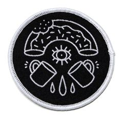 Donut x Coffee Woven Patch