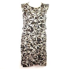 Banana republic womens career blouson sleeveless printed dress small | Clothing, Shoes & Accessories, Women's Clothing, Dresses | eBay!