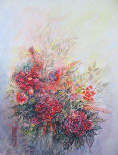 Bouquet en lumière    by Joshima