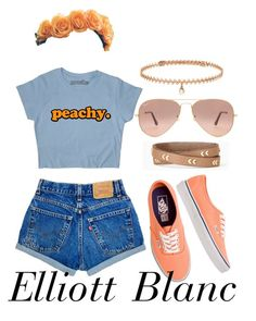 """""""Ellie"""" by onedirectionsbabyyy on Polyvore featuring Vans, BERRICLE, Ray-Ban and Stella & Dot"""