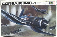Revell 1/32 F4U-1 Corsair - (F4U1), H278 plastic model kit