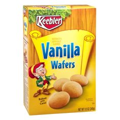 Best Vanilla Wafers Such As Keebler Vanilla Wafers Recipe on Pinterest