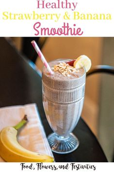 Strawberry & Banana Smoothie Create a healthy smoothie recipe that is great for weight loss. This is my favorite strawberry and banana fruit and protein smoothie that is perfect for breakfast! Protein Smoothies, Apple Smoothies, Breakfast Smoothies, Smoothie Recipes, Breakfast Recipes, Smoothie Bar, Banana Fruit, Strawberry Banana Smoothie, Strawberry Breakfast