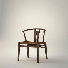 """""""半圈椅""""——MOJI Chinese Furniture, Oriental Furniture, Kids Recliner Chair, Furniture Decor, Furniture Design, White Armchair, Chinese Interior, Classic Furniture, Furniture Inspiration"""