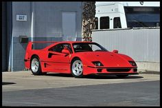 S141 1990 Ferrari F40  One Owner with Only 473 Original Miles
