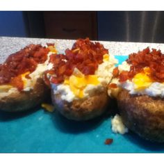These stuffed baked potatoes were amazing:D