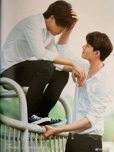 Perth, Cute Love Couple, My Love, 2moons The Series, Lgbt Love, Cute Gay Couples, Thai Drama, Perfect Boy, Asian Actors