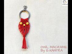 DIY,  How to make Owl  Macrame