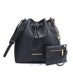 MICHAEL Michael Kors Gia Satchel Black Ostrich-Embossed Model: MK Handbags - 022 £56.00#http://www.bagsloves.com/
