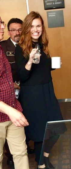 holland roden at showtime con