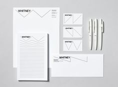 Our favorite Dutch graphic design studio Experimental Jetset has designed the new identity for the Whitney Museum of American Art in New York City. The new identity is in preparation of the a big move the museum will be making Museum Identity, Museum Branding, Identity Design, Visual Identity, Brand Identity, Logo Design, Cultural Identity, Identity Art, Design Agency