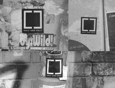 Out and About by Half and Half Exhibitions, via Behance