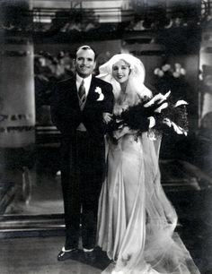 "Douglas Fairbanks Sr. and Mary Pickford ~ The couple married in 1920. The public went wild over the idea of ""Everybody's Hero"" marrying ""America's Sweetheart."" They were greeted by large crowds in London & Paris during their European honeymoon, becoming Hollywood's first celebrity couple. Fairbanks & Pickford were regarded as ""Hollywood Royalty,"" famous for entertaining at their Beverly Hills estate, Pickfair."