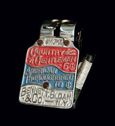 Country Gentleman Cigar Cutter -- Lot 105 -- December 3, 2011 Antiques Auction -- Crocker Farm, Inc.