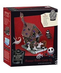 Loving this Nightmare Before Christmas Haunted House Cookie Kit on #zulily! #zulilyfinds