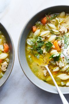 Easiest Chicken Noodle Soup Recipe - NYT Cooking - Eat Me - Chicken Recipes Chicken Noodle Soup, Chicken Soup Recipes, Cooking Recipes, Healthy Recipes, Cooking Cake, Cooking Gadgets, Cooking Utensils, Easy Cooking, Healthy Habits