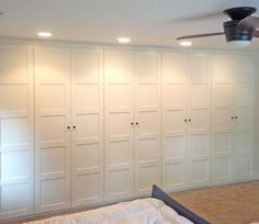 My favorite part of our new master bedroom addition is definitely the Ikea Pax Wardrobe wall. At first we considered a walk-in closet f...