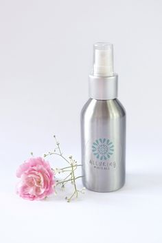 Alluring Minerals Rosewater Spritzerisgreat for toning the skin after cleansing, for fixing your make-up and to hydrate your skin anytime! We use all natural ingredients and no alcohol, so all you get is nourishment for your skin. The base for these products are Certified Organic Hydrosols, which are hydrating, and add moisture to the skin. We then add oils suited to specific skin types (i.e.Vitamin E Oilto the Rosewater & Glycerine), some Certified Organic Glycerine (to add even more…