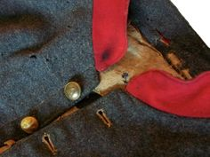 Adolphus Confederate Uniforms offers Frederick R. Adolphus' scholarly research, articles, and his book Imported Confederate Uniforms of Peter Tait & Co...as well as large images with construction detail. - Rare confederate artillery shell jacket detail.