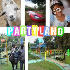 Party Land Linbro Park has been in operation for many years and is still going strong. Under new management has been converted into a party farm yard, with various livestock wondering the grounds.  Children Party Venue hire and farmyard n Linbro Park, Johannesburg we have two well equipped venue to host your child' perfect party.