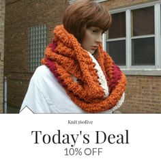 Today Only! 10% OFF this item.  Follow us on Pinterest to be the first to see our exciting Daily Deals. Today's Product: Ready to Ship - Infinity Scarf - Knit Scarf - Womens Scarf - The Windy City Scarf Buy now: https://www.etsy.com/listing/450402762?utm_source=Pinterest&utm_medium=Orangetwig_Marketing&utm_campaign=Fall%20In   #etsy #etsyseller #etsyshop #etsylove #etsyfinds #etsygifts #musthave #loveit #instacool #shop #shopping #onlineshopping #instashop #instagood #instafollow…
