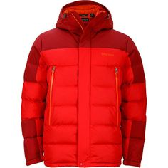 Marmot - Mountain Down Jacket - Men's - Team Red/Brick